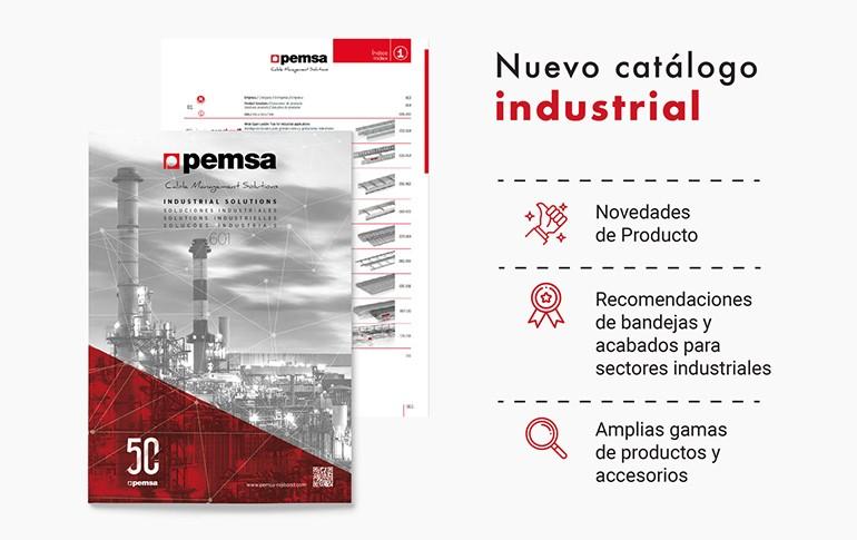 Pemsa lanza su nuevo catálogo de Soluciones industriales