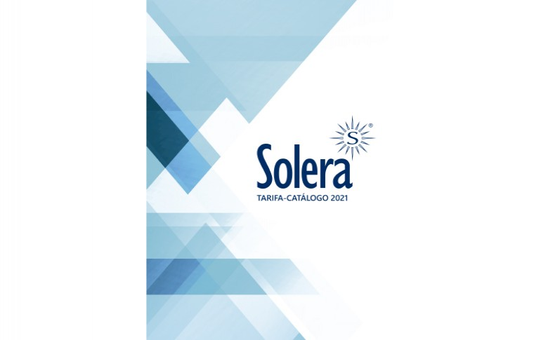 Nuevo catálogo tarifa de Solera