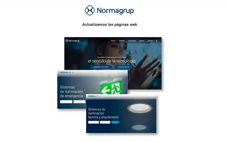 NormaGrup actualiza sus páginas web