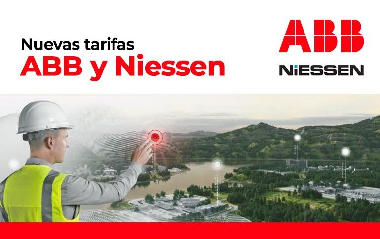 Nuevas tarifas ABB y Niessen  2021