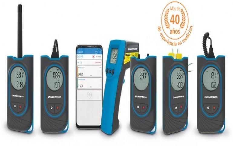 La nueva gama de instrumentos HVACR para unas mediciones fáciles y rápidas de SAUERMANN