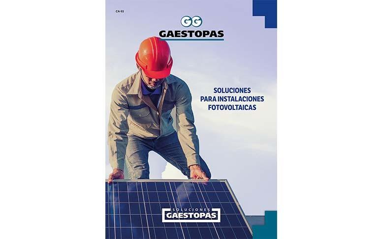 Nuevo catálogo de soluciones para instalaciones fotovoltaicas de GAESTOPAS