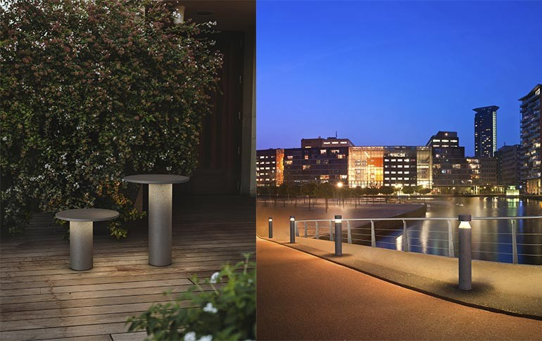 Soluciones para iluminación exterior de LEDS C4