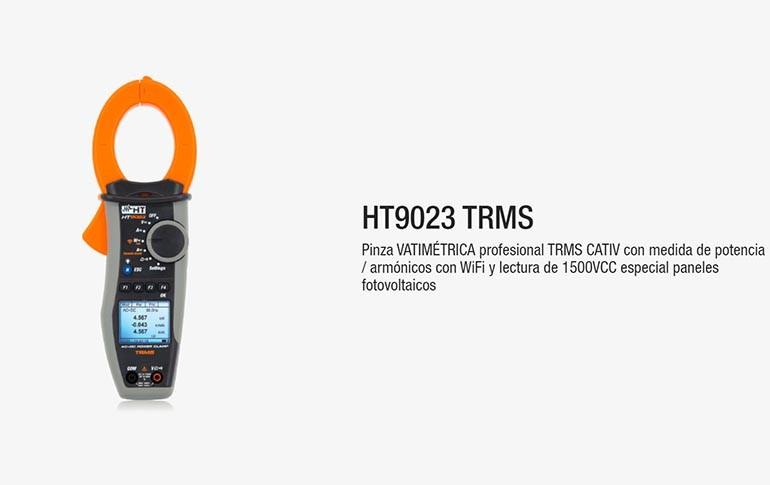 Nueva pinza varimétrica HT9023 TRMS