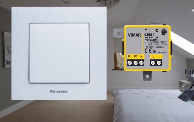 Una casa inteligente con Vimar Y Panasonic