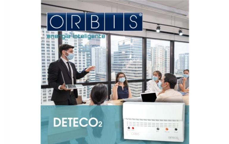 DETECO2: nuevo detector de CO2 de ORBIS
