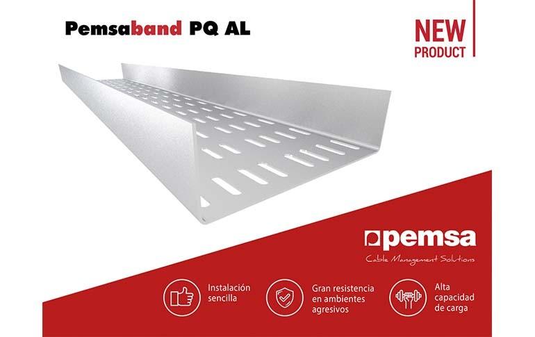 Nueva bandeja industrial de chapa Pemsaband PQ AL