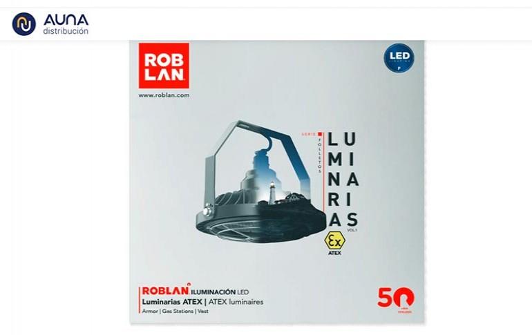 Nuevo catálogo de luminarias de ROBLAN