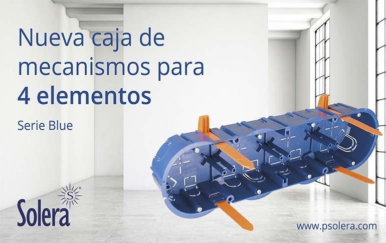 Nueva caja para 4 mecanismos de Solera