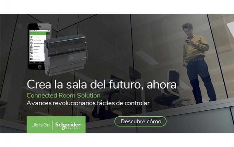 Edificios y hoteles para el futuro con Connected Room Solution de Schneider