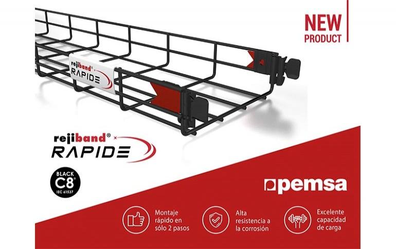Rejiband Rapide Black C8, la nueva bandeja de Pemsa