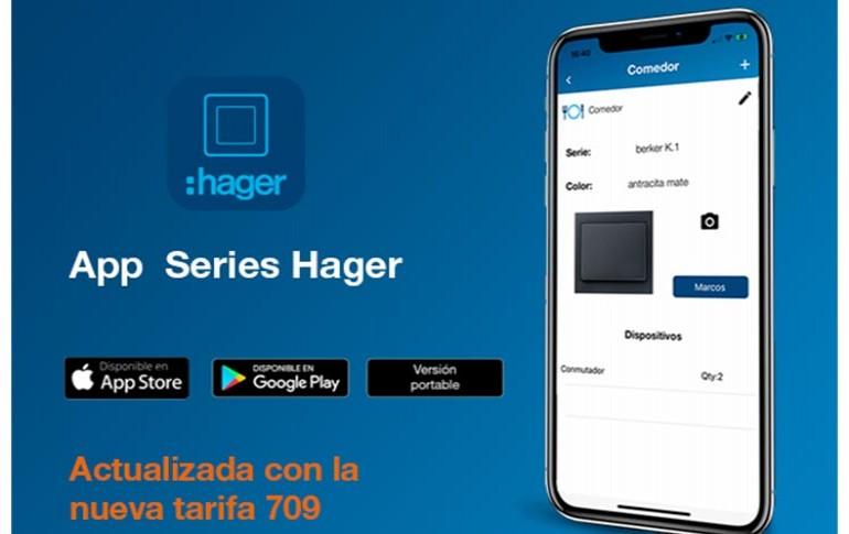 Llega la nueva App Series de Hager