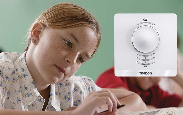 Sensores de calidad del aire de Theben