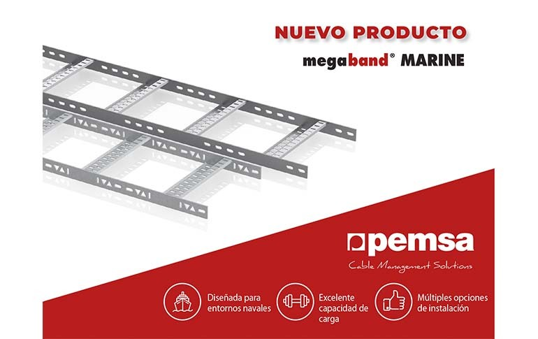 Nueva Bandeja Megaband® Marine de Pemsa
