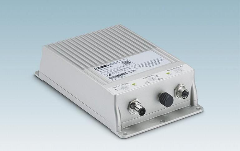Nueva fuente de alimentación con índice de protección IP67 de Phoenix Contact