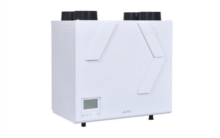 Nuevo sistema de ventilación Lossnay vertical de alta eficiencia energética de Mitsubishi