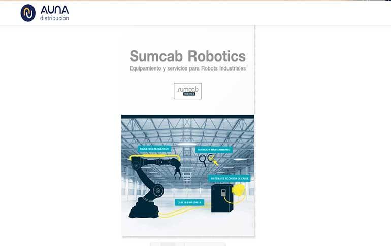 Nuevo catálogo de Sumcab Robotics