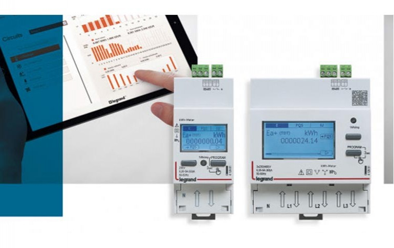 Nueva gama de contadores de energía inteligentes EMDX3 de Legrand