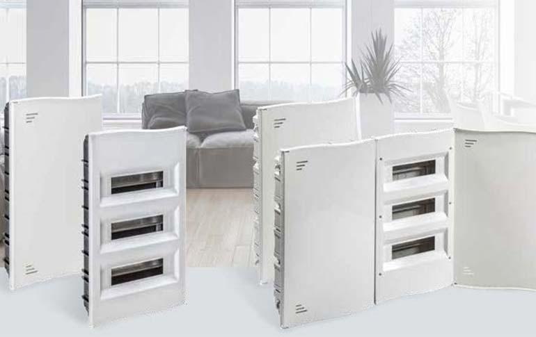Ya disponible la gama de Cajas de Distribución IP40 para vivienda (SIN ICP) de IDE ELECTRIC.