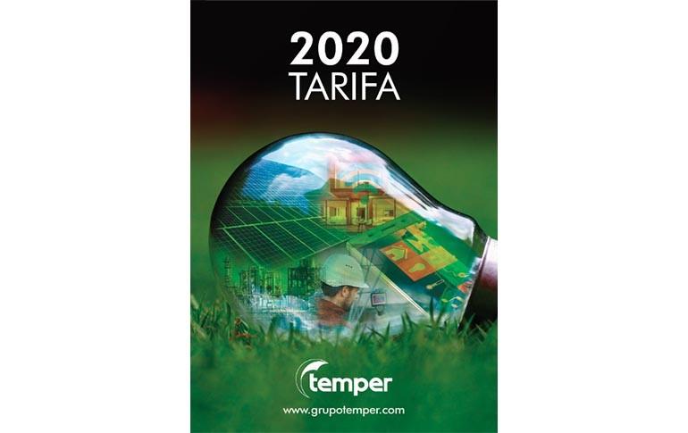 Nueva tarifa de Temper para 2020