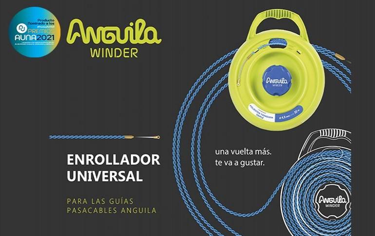 Nuevo enrollador universal Anguila Winder