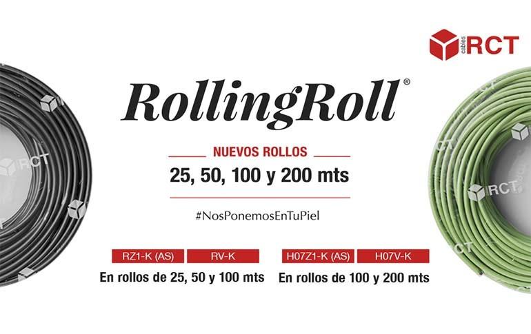 Empaquetado Rolling Roll®: Versatilidad, ahorro y evolución