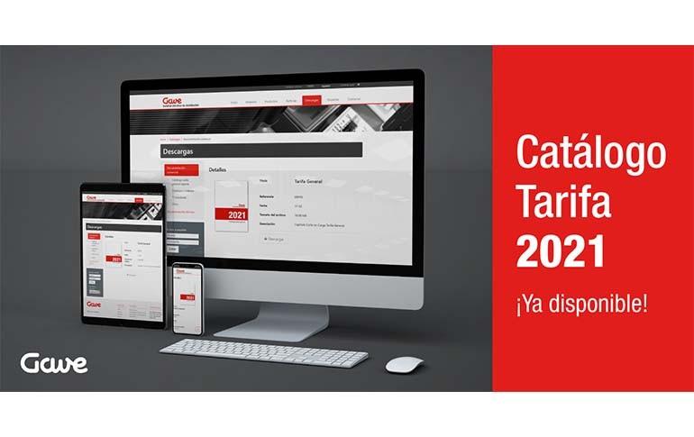 Nuevos catálogos-tarifa de Gave Electro