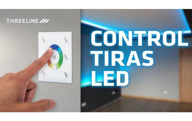 Soluciones de control para tiras LED de Threeline