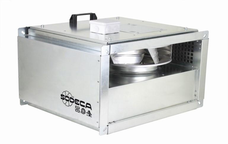 Sodeca presenta su nueva gama de extractores en línea CL/PLUS/EC