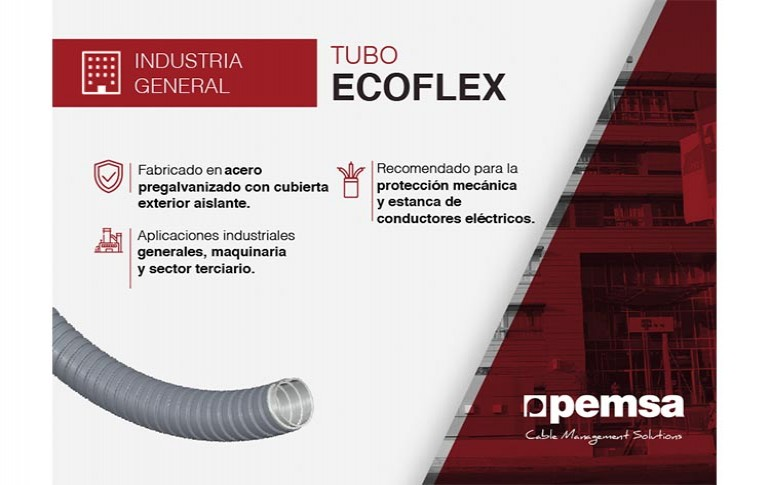 Descubre el Tubo ECOFLEX de Pemsa
