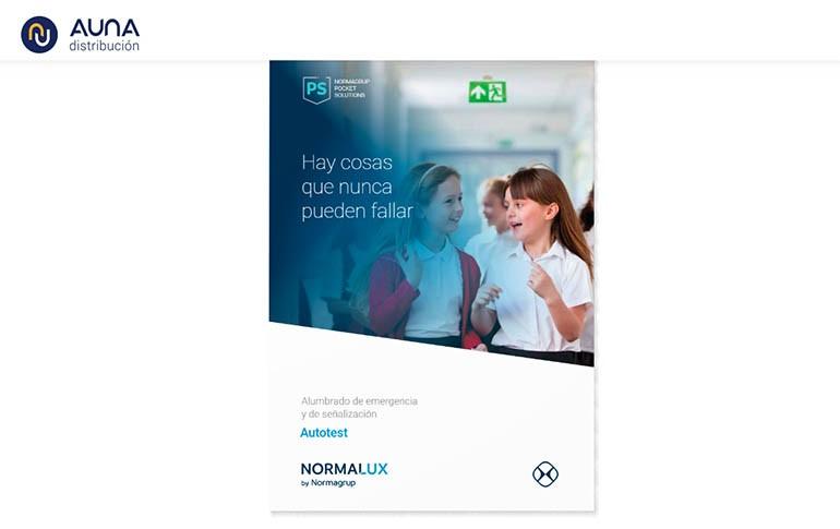 Nuevo catálogo Autotest NormaLux de Normagrup