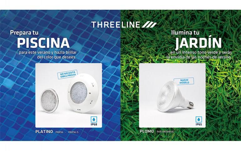 Soluciones Threeline para piscina y jardín