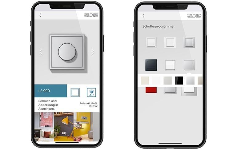 Nueva app de realidad aumentada AR-Studio de Jung