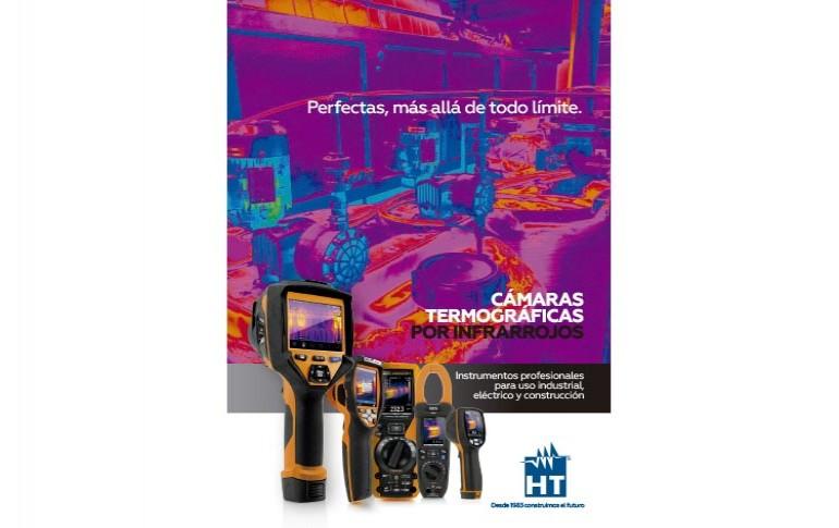 Nuevas cámaras termográficas por infrarrojos de HT Instruments