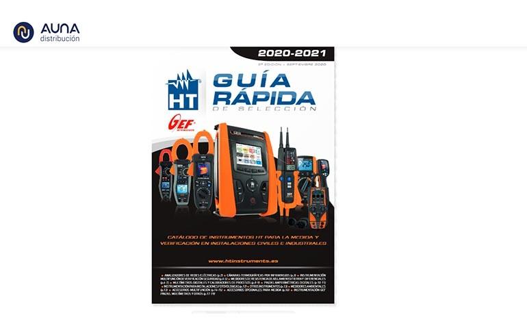 Nueva Guía Rápida segunda edición de HT Instruments