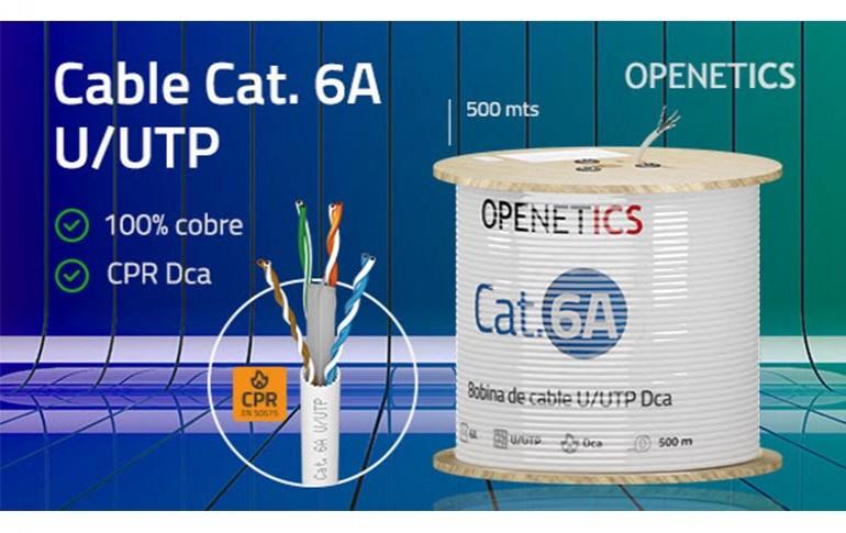 Nuevo cable cat 6ª de Openetics