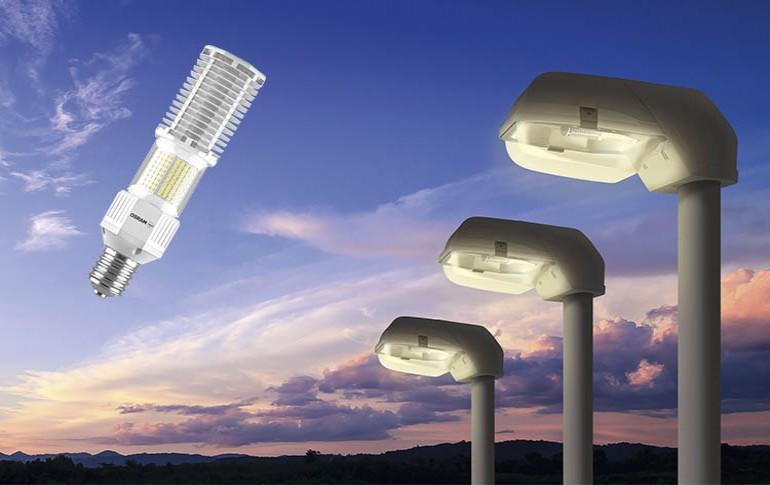 Nuevas lámparas de alumbrado público OSRAM NAV LED