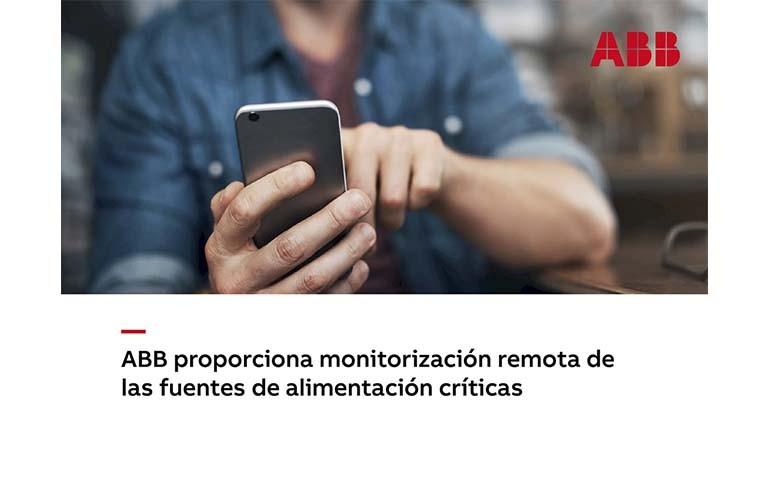 ABB y la monitorización remota de fuentes de alimentación críticas