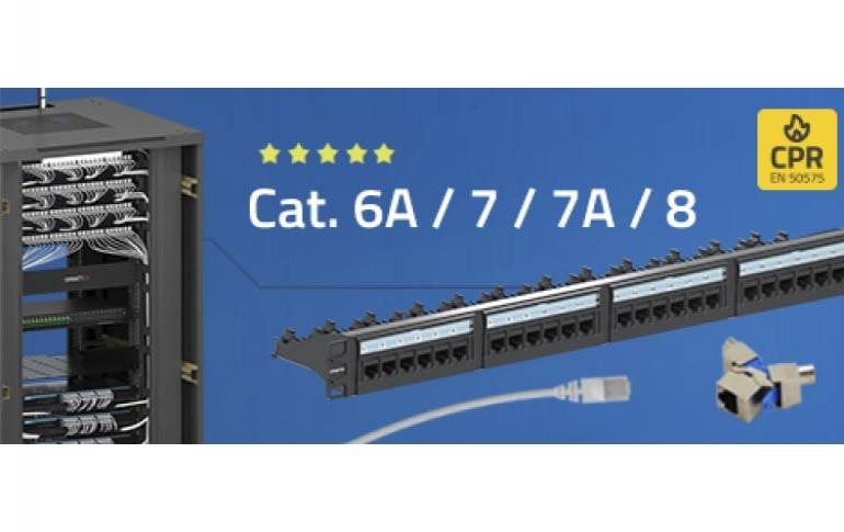 Solución integral en Sistema de Cableado Estructurado  Cat. 8 / 7A / 7 / 6A / 6
