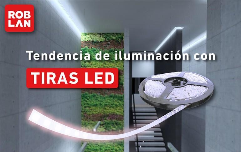 Tendencias de iluminación con tiras LED Roblan