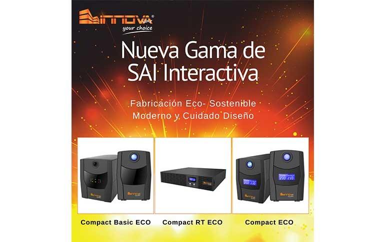 Nueva gama de SAI interactiva de Innova