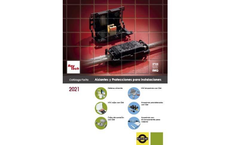 Nuevo catálogo de aislantes y protecciones para instalaciones Raytech