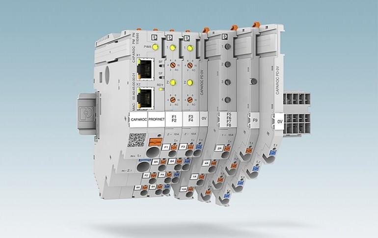 Nuevo sistema de interruptores para protección de equipos de Phoenix Contact