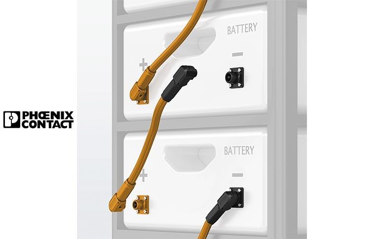 Nuevos conectores para sistemas de acumulación de energía de Phoenix Contact