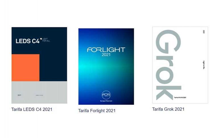 Tarifas LEDS C4 para el 2021