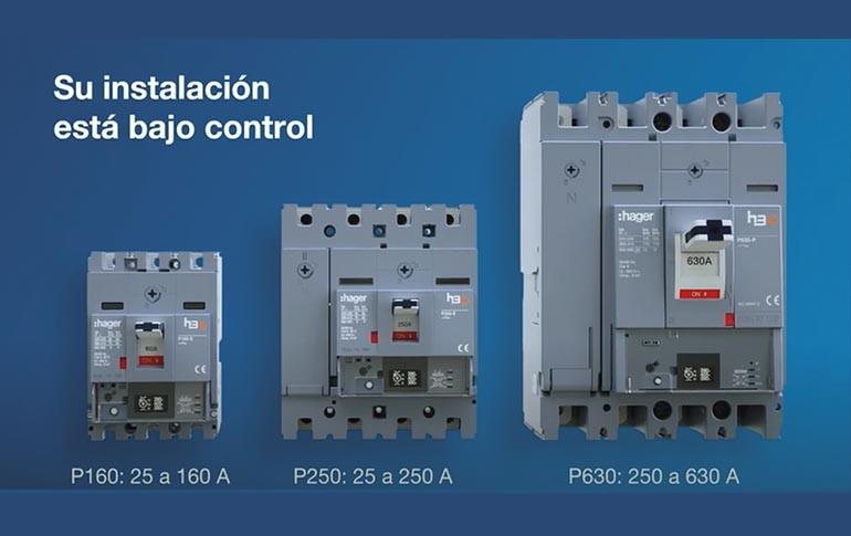 H3+, interruptores de caja moldeada de Hager