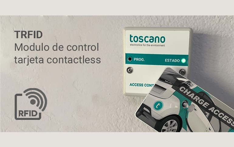 Nuevo módulo de control TRFID Contactless de Toscano