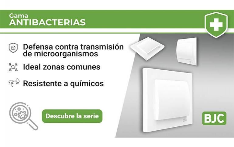 Nuevos productos con acabado antibacteriano  para Iris e Iris Plus de BJC