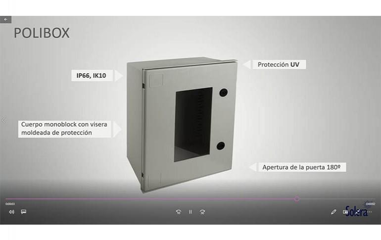 Nuevos armarios de poliéster IP66/IK10 de Solera