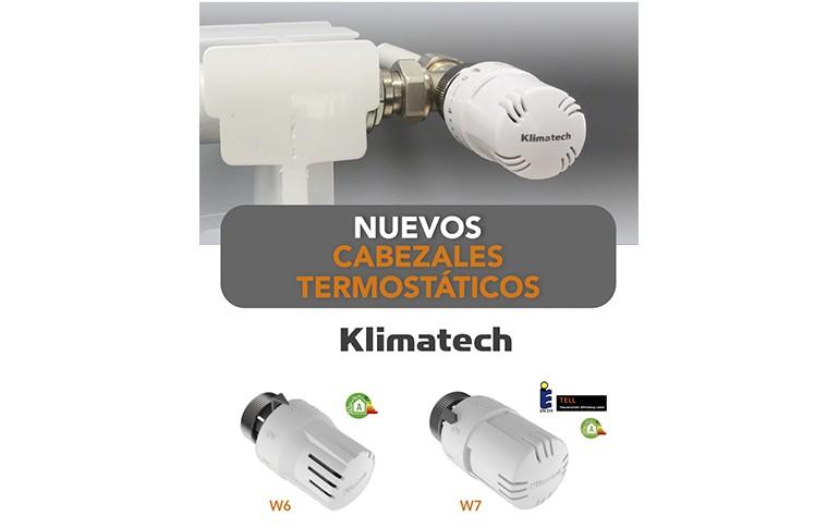 Nuevos cabezales termostáticos de STH